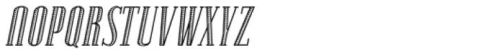 Lexave Fancy Italic Font UPPERCASE