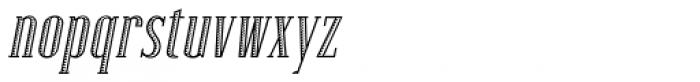 Lexave Fancy Italic Font LOWERCASE