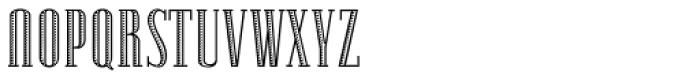 Lexave Fancy Font UPPERCASE