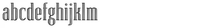 Lexave Fancy Font LOWERCASE