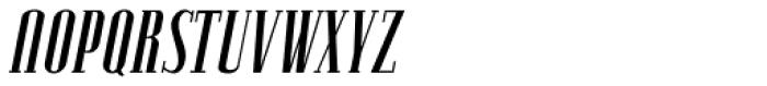 Lexave Italic Font UPPERCASE