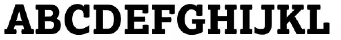 Lexia ExtraBold Font UPPERCASE