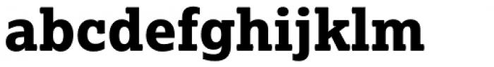 Lexia ExtraBold Font LOWERCASE