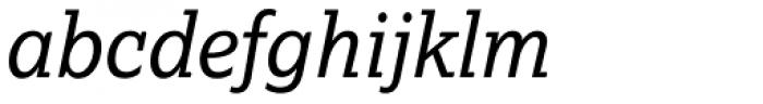 Lexia Italic Font LOWERCASE