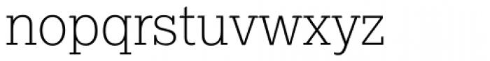 Lexia Thin Font LOWERCASE