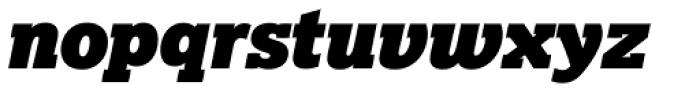 Lexia Typographic Advertising Italic Font LOWERCASE