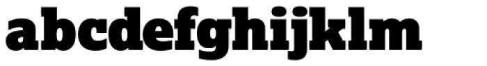 Lexia Typographic Advertising Font LOWERCASE