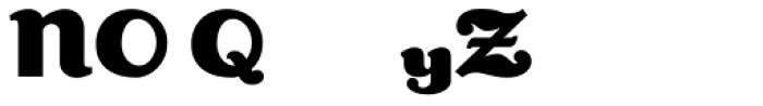 Lexington Alt Font UPPERCASE