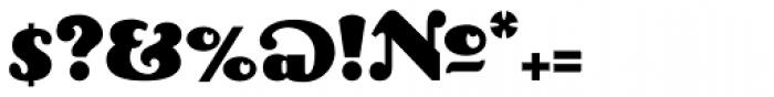 Lexington Font OTHER CHARS