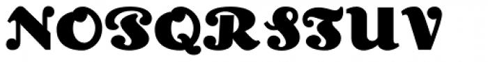 Lexington Font UPPERCASE