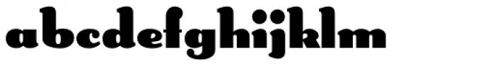 Lexington Font LOWERCASE
