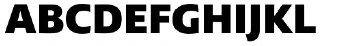 Lexis Black Font UPPERCASE