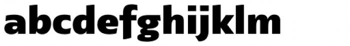 Lexis Black Font LOWERCASE
