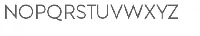 Lenis Regular Font UPPERCASE