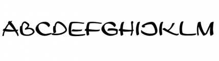 Leger URW Regular Font UPPERCASE