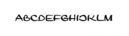 Leger URW Regular Font LOWERCASE