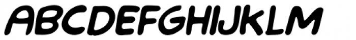 LF Loose Goose Bold Italic Font LOWERCASE