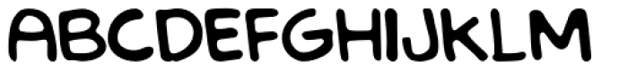 LF Loose Goose Regular Font UPPERCASE