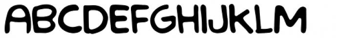LF Loose Goose Regular Font LOWERCASE