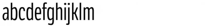 LFT Etica Compressed Book Font LOWERCASE