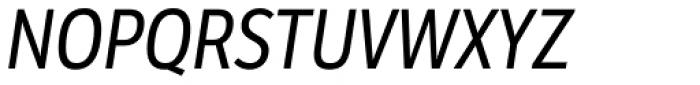 LFT Etica Condensed Italic Font UPPERCASE