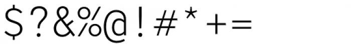 LFT Etica Mono Light Font OTHER CHARS