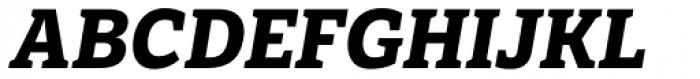 LFT Etica Sheriff Bold Italic Font UPPERCASE