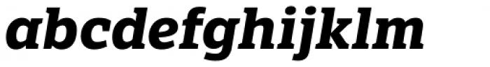 LFT Etica Sheriff Bold Italic Font LOWERCASE
