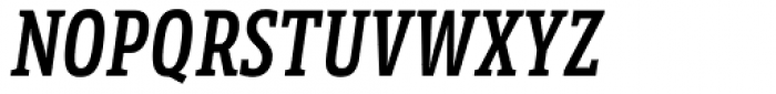 LFT Etica Sheriff Compressed SemiBold Italic Font UPPERCASE