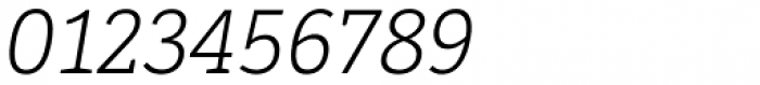 LFT Etica Sheriff Light Italic Font OTHER CHARS