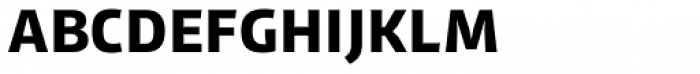 LFT Iro Sans Unicase SemiBold Font UPPERCASE