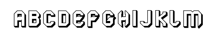 LGFLAGELOGOtresD-Regular Font UPPERCASE