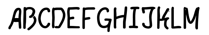 LGFPatuko-Thin Font UPPERCASE