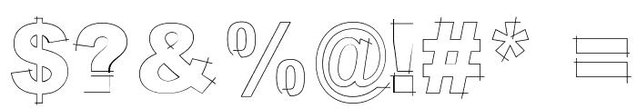 LGfBesitosRound-Light Font OTHER CHARS