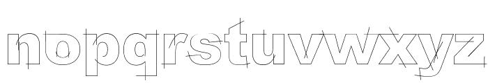 LGfBesitosRound-Light Font LOWERCASE