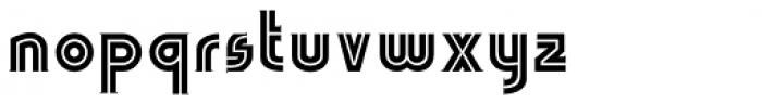 LGF Avadar Extra Bold Font LOWERCASE