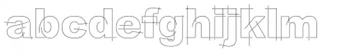 LGF Besitos Square Font LOWERCASE