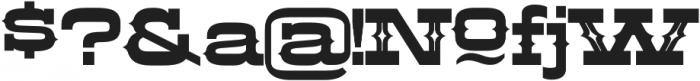 LHF Aledo Decorative Regular otf (400) Font OTHER CHARS