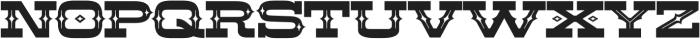 LHF Aledo Decorative Regular otf (400) Font UPPERCASE