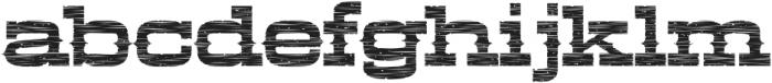 LHF Aledo Distressed Regular otf (400) Font LOWERCASE