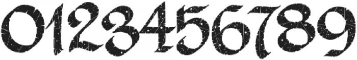 LHF Ascribe Distressed Regular otf (400) Font OTHER CHARS