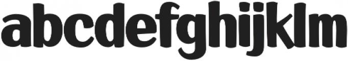 LHF Big Bob Regular Regular otf (400) Font LOWERCASE