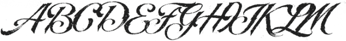 LHF BlackRose Script Inked Regular otf (900) Font UPPERCASE