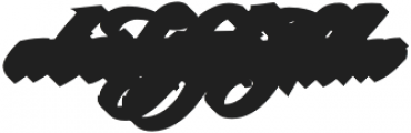 LHF BlackRose Script Shadow Regular otf (900) Font LOWERCASE