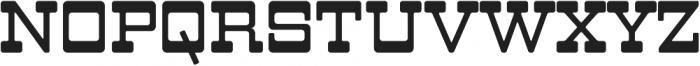LHF Branding Iron Regular Regular otf (400) Font UPPERCASE