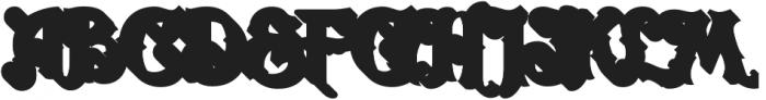 LHF Carnivale Block Shadow Regular otf (400) Font UPPERCASE