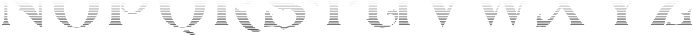 LHF Carnivale Inset 1 Regular otf (400) Font LOWERCASE