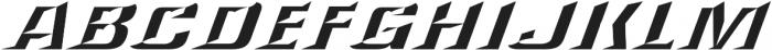 LHF Convecta Convex Regular otf (400) Font UPPERCASE