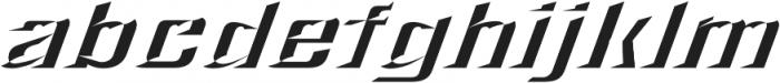 LHF Convecta Convex Regular otf (400) Font LOWERCASE