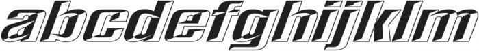 LHF Convecta Full Regular otf (400) Font LOWERCASE